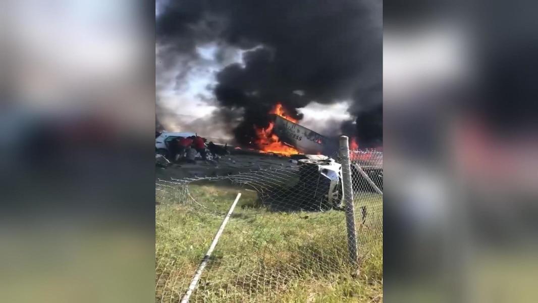 Quatre personnes meurent dans l'accident sur l'A-440   TVA