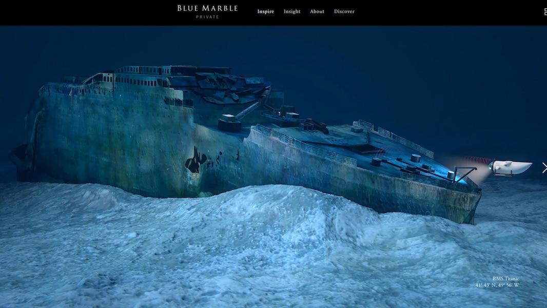 Votre derni re chance de voir le titanic tva nouvelles - Dive time tours ...
