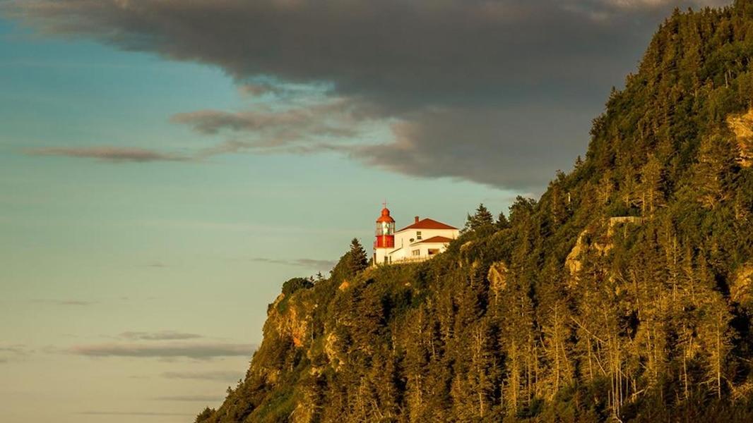 Cinq phares où il est possible de passer la nuit au Québec