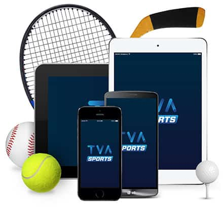 Applications Mobiles - TVA Sports