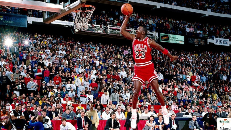 Le match le plus productif de Michael Jordan a 30 ans