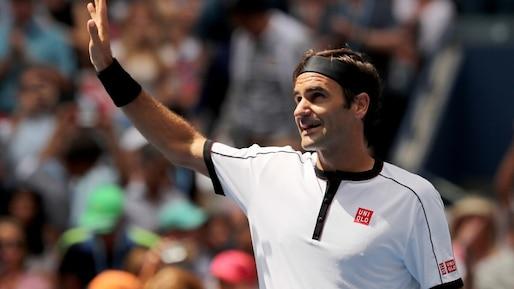 Roger Federer en quarts sans être inquiété