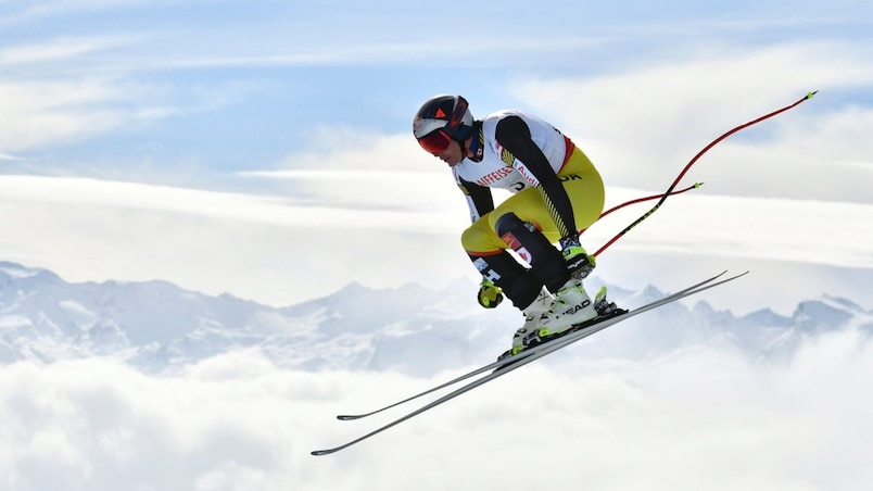 SKI-ALPINE-WORLD-MEN-DOWNHILL-TRAINING