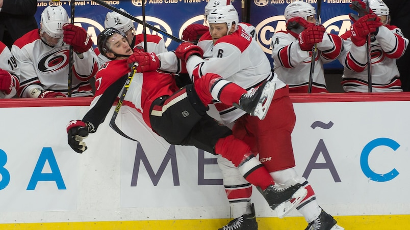NHL: Carolina Hurricanes at Ottawa Senators