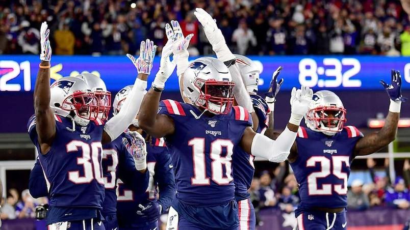 New York Giants v�New England Patriots