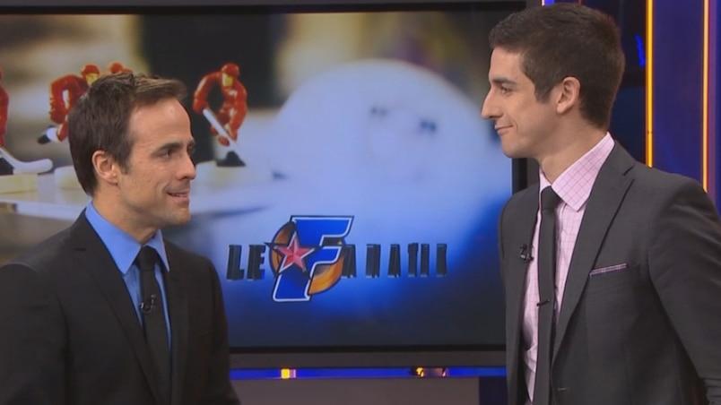 Sébastien Benoît et Charles-Antoine Sinotte