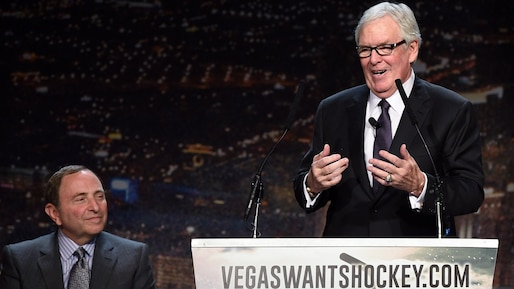Hockey Vision Las Vegas News Conference To Announce NHL Season Ticket Drive