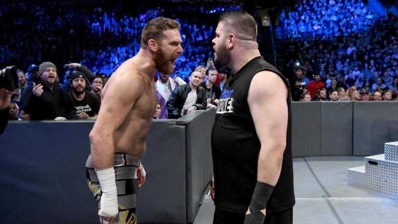 Cette semaine dans l'univers de la WWE : Fin de l'amitié entre Owens et Zayn?