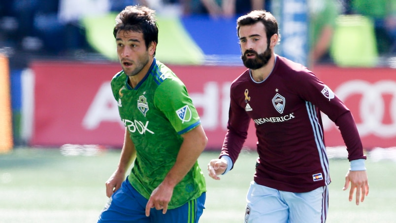 Les Sounders s'amusent face aux Rapids