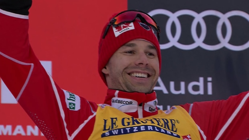 Tour de ski: Alex Harvey termine troisième de la sixième étape