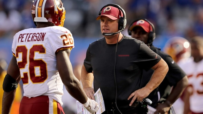 Washington Redskins v�New York Giants