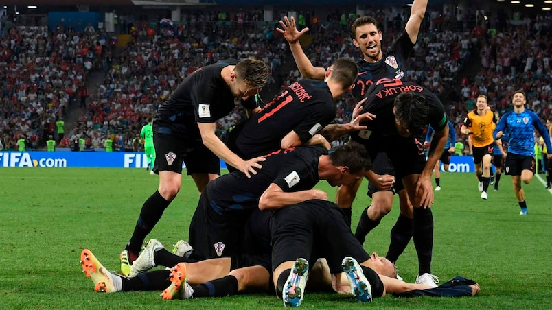 La Croatie met fin au rêve russe