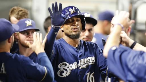 Domingo Santana donne la victoire aux Brewers