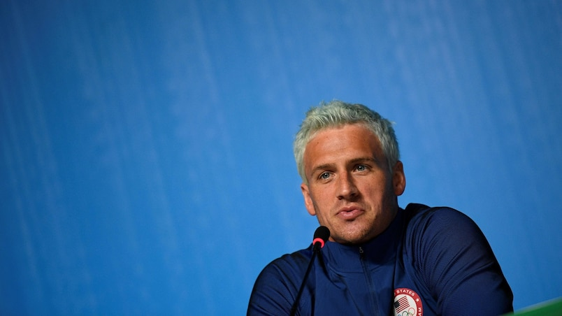 Lochte s'excuse