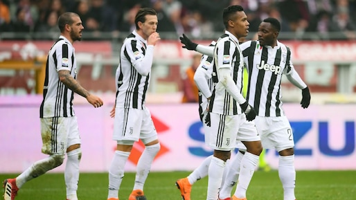 La Juventus met la pression sur Naples