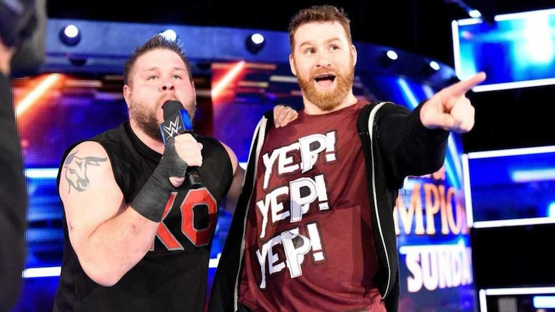 Les Québécois Kevin Owens et Sami Zayn, fin prêts pour Clash of Champions