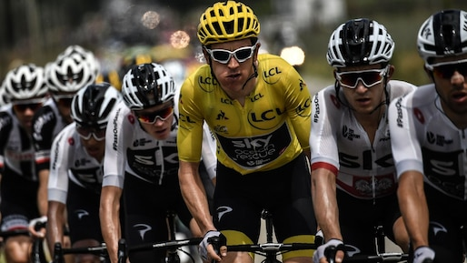 TDF : Thomas garde le maillot jaune