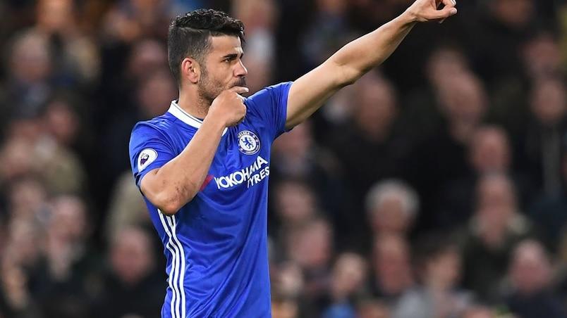Diego Costa absent à la reprise de l'entraînement de Chelsea
