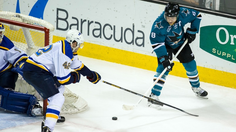 NHL: St. Louis Blues at San Jose Sharks
