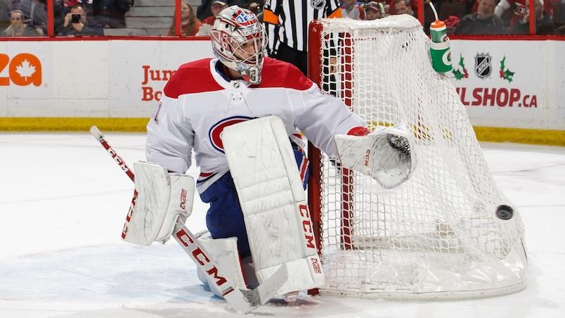 Hurricanes-Canadiens : un changement de dernière minute