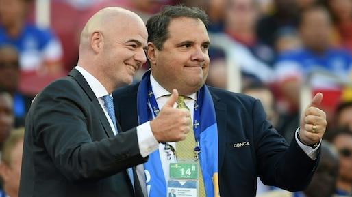 Gianni Infantino et Victor Montagliani