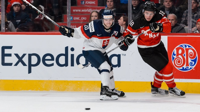 Slovakia v Canada - 2015 IIHF World Junior Championship