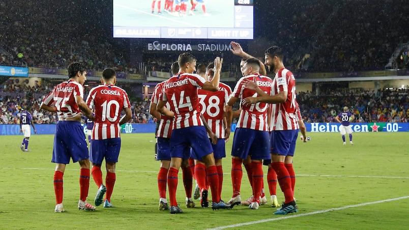 L'Atlético Madrid se paie les étoiles de la MLS