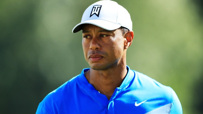 Tiger Woods insatisfait de sa performance