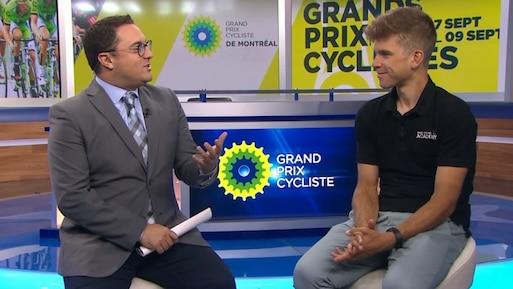 Guillaume Boivin fin prêt pour les Grands Prix Cyclistes de Québec et de Montréal