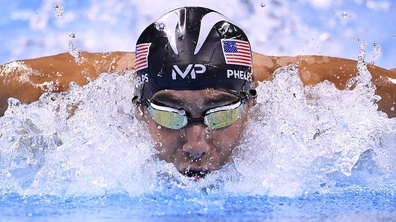Une 23e médaille d'or pour Phelps!