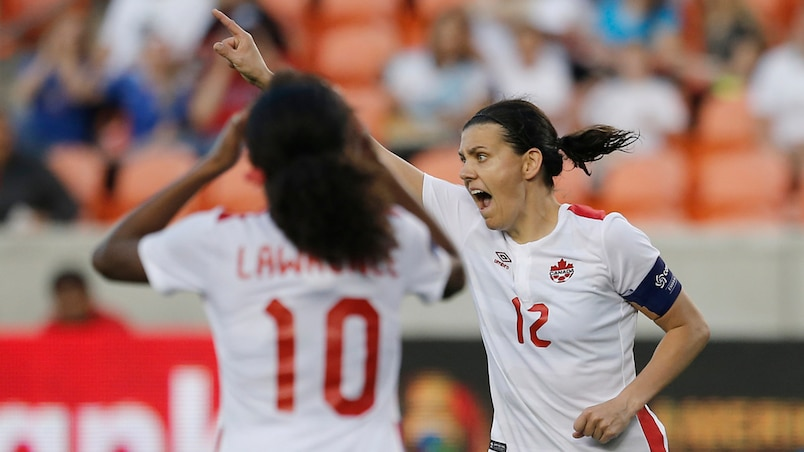 Soccer: 2016 CONCACAF Women's Olympic Qualifying - Costa Rica vs Canada