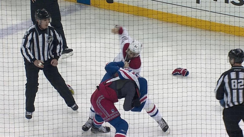 Max Pacioretty engage le combat contre Jimmy Vesey