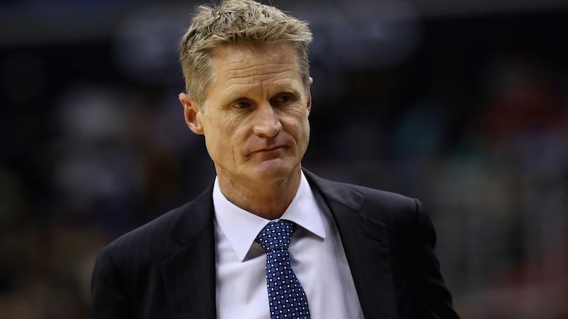 Warriors: Steve Kerr restera à l'écart