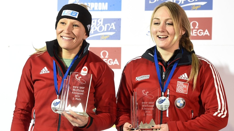 Un autre podium pour Kaillie Humphries et Melissa Lotholz