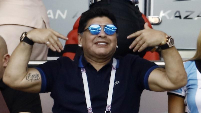 Maradona propose ses services gratuitement à l'Argentine