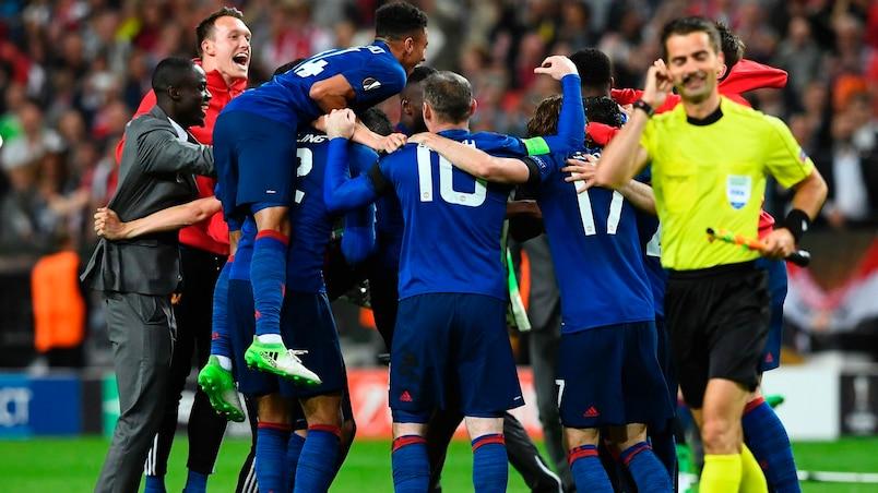 Un triomphe émotif pour Manchester United en finale de la Ligue Europa