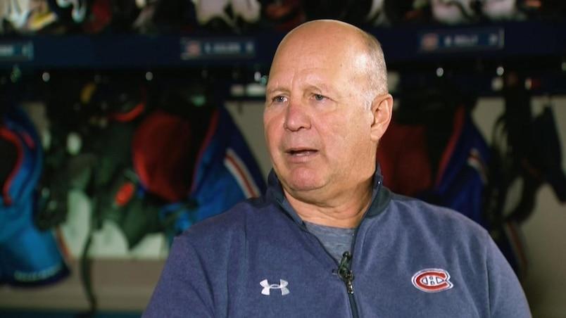 Claude Julien adhère au changement de cap des Canadiens