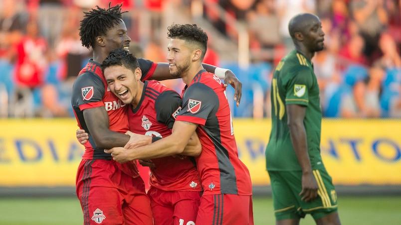 L'attaque du Toronto FC en grande forme