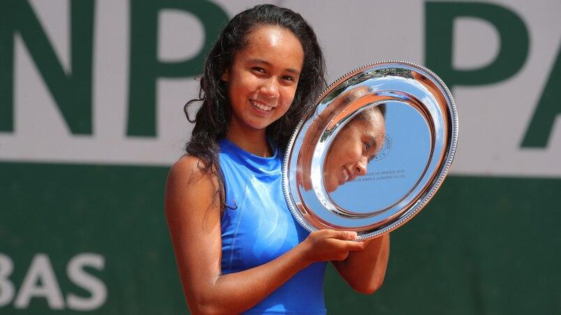 Roland-Garros: une Québécoise couronnée chez les juniors