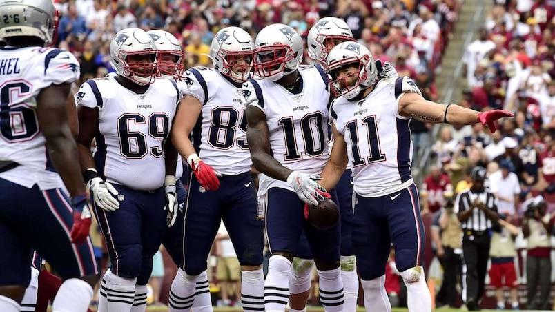 New England Patriots v�Washington Redskins
