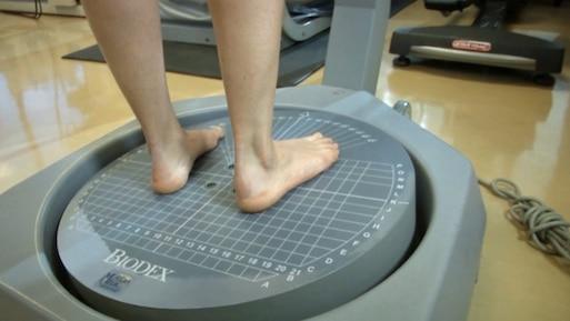 Biodex, la mesure de l'équilibre