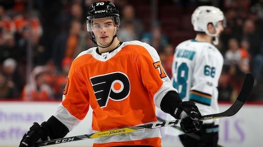 Danick Martel sous contrat avec les Flyers