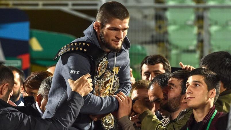 Khabib Nurmagomedov solidaire avec Zubaira Tukhugov