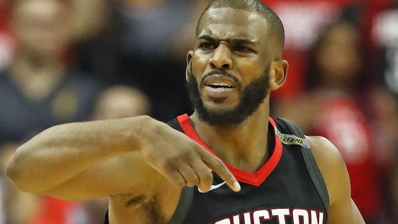 Les Rockets de Houston privés de Chris Paul