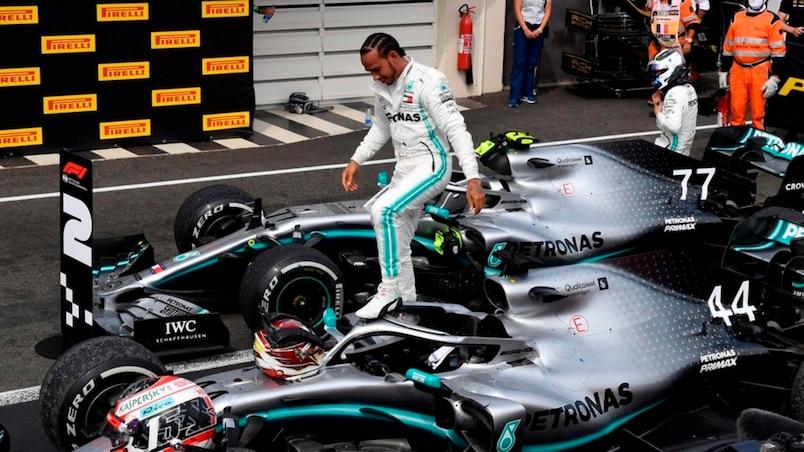 GP de France: Hamilton domine de bout en bout, Stroll 13e