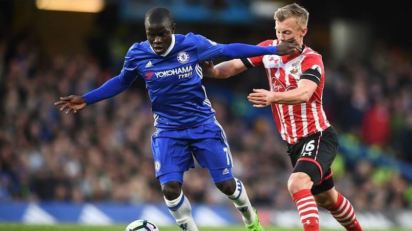 Angleterre: N'Golo Kanté élu joueur de l'année par les journalistes