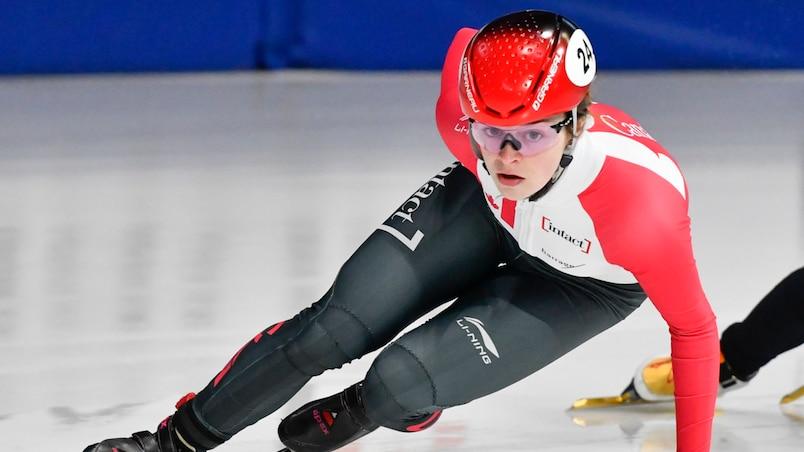 Kim Boutin remporte la médaille d'argent à Almaty