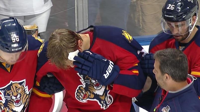 Une grosse frayeur pour les Panthers