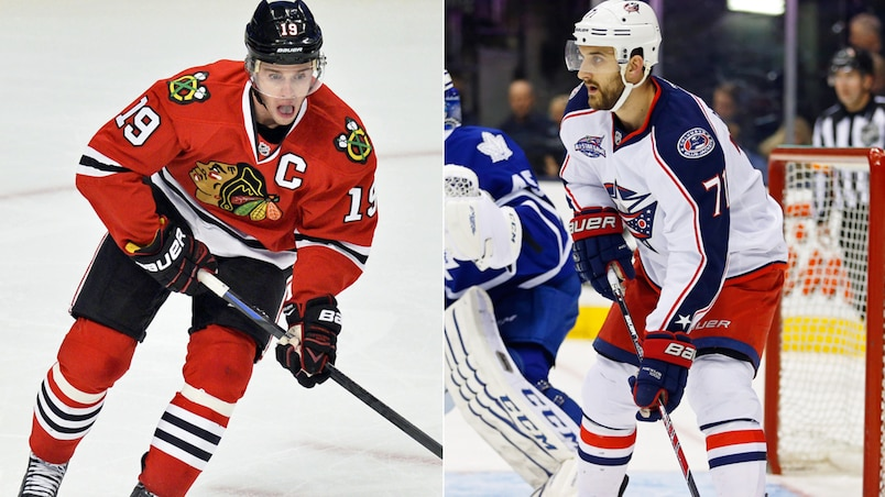 Toews et Foligno capitaines