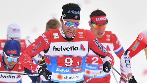Alex Harvey 5e au 50 km à Oslo